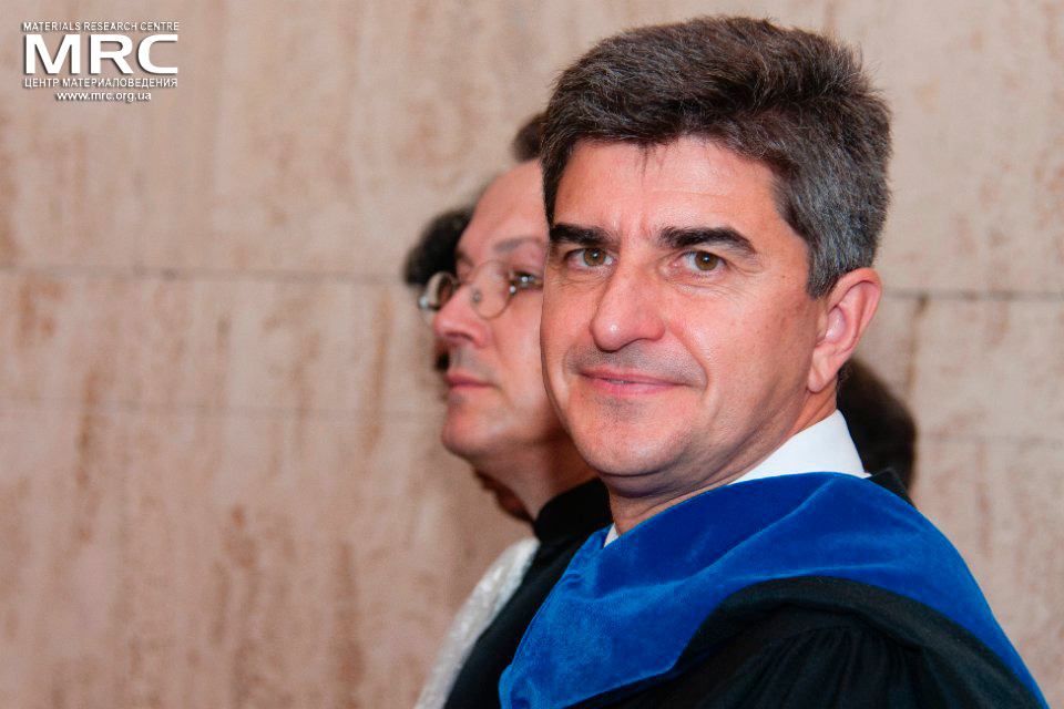 Dr. Yury Gogotsi was awarded with Doctor Honoris Causa from Paul Sabatier University of Toulouse III, France, October 08, 2014