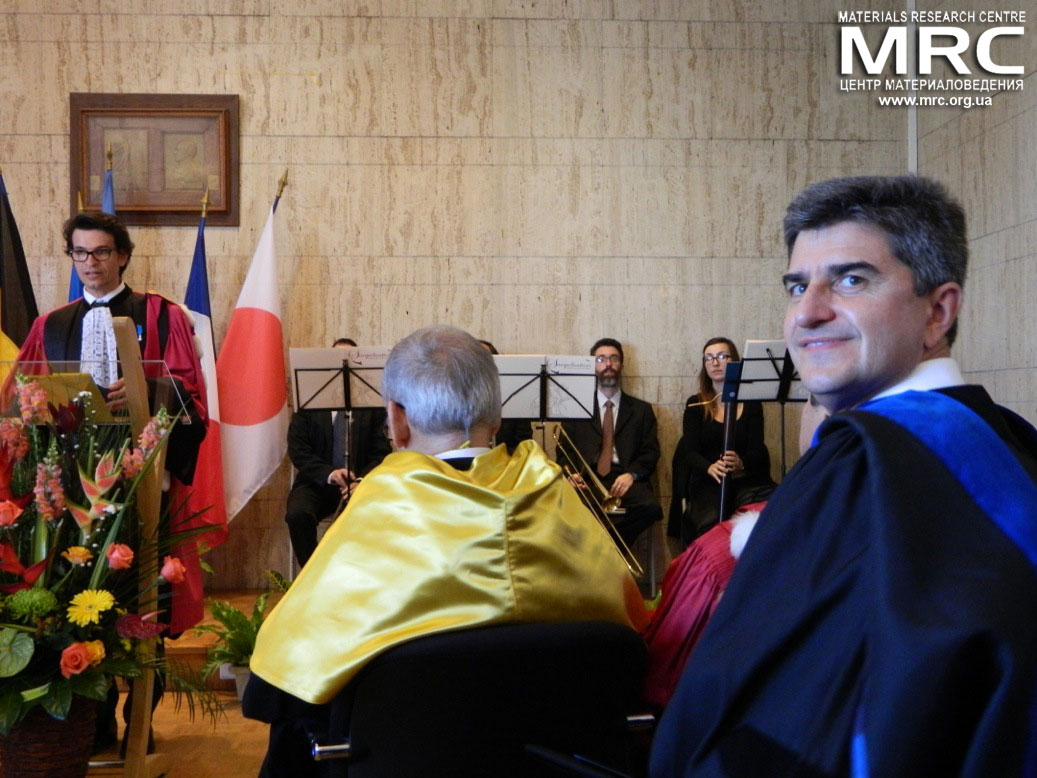 Doctor Honoris Causa award ceremony took place at the Paul Sabatier University of Toulouse III, France on October 08, 2014.