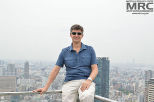 Prof. Yury Gogotsi, Drexel University, USA in Osaka. At the 2013 ICAC conference he gave a plenary lection on Zero- to Three-dimensional carbon-based nanomaterials for electrical energy storage