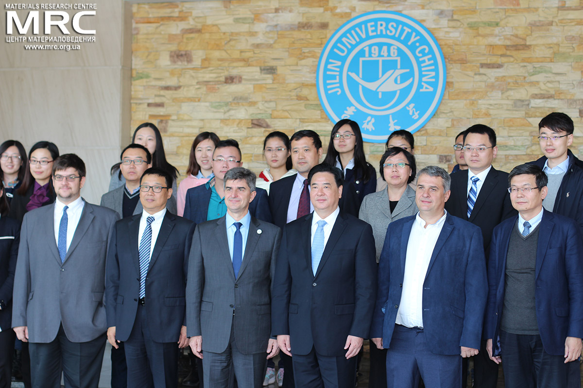Photo of the participants and guests of Appointment ceremony of Honorary professorship for prof.Yury Gogotsi, Jilin University