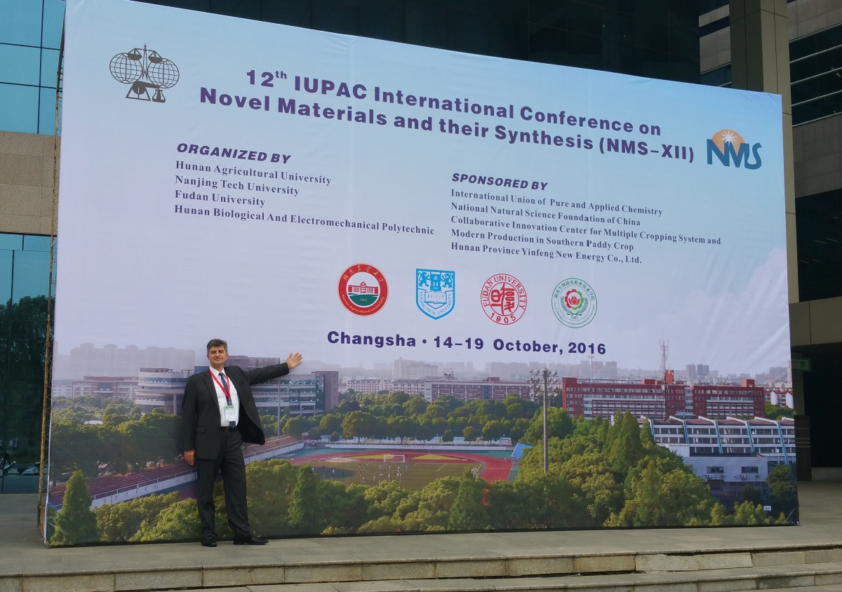 Prof. Yury Gogotsi, 12th IUPAC International Conference on Novel Materials and their Synthesis (NMS-XII)