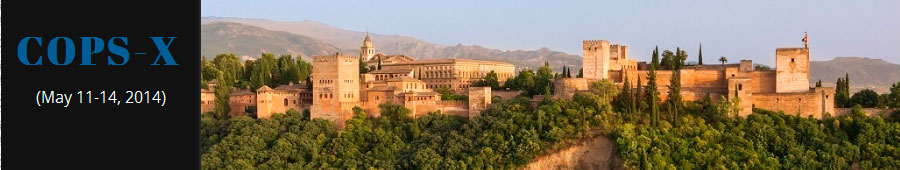 10th International Symposium on the Characterization of Porous Solids (COPS-X) in Granada (Spain), May 11-14th, 2014
