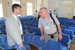 "Plenary lectures of Humboldt-Conference Chemistry and Life"" devoted to 150-th jubilee of Volodymyr Vernadsky (16th-19th May 2013. National pedagogical Korolenko University, Poltava"