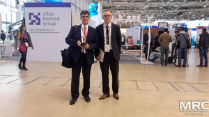 Prof. Yury Gogotsi and prof. Patrice Simon visited Open Innovations Forum and Technology Show, Moscow, October 28, 2015