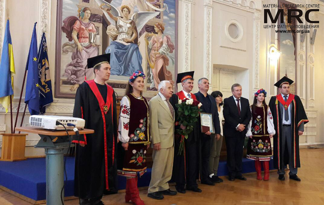 "Prof. Yury Gogotsi received an honorary doctorate from the National Technical University of Ukraine ""Igor Sikorsky Kyiv Polytechnic Institute"