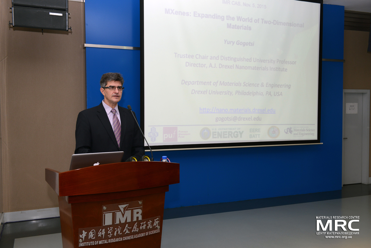 Lee Hsun Award Lecture at the Institute of Metal Research (IMR) of the Chinese Academy of Sciences