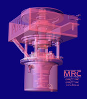 Laboratory equipment for milling 3D model of mill by MRC