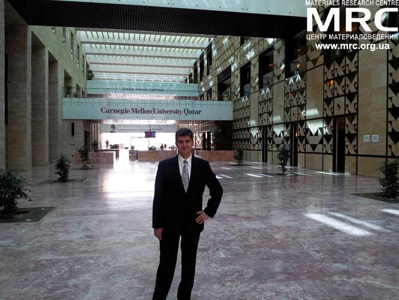 Профессор Юрий Георгиевич Гогоци, Университет Дрекселя,США, побывал в Университет Карнеги - Меллон