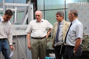 Итоговая встреча и техническое совещание по изготовлению оборудования согласно международных научно-исследовательских проектов Новые материалы для электроприводного транспорта и Переработка использованных батарей электроприводного транспорта