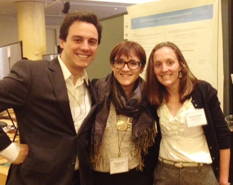 At the photo: Carlos Perez, Cristy Jost, Kelsey Hatzell, researchers from Drexel Nanomaterials Group, Drexel University