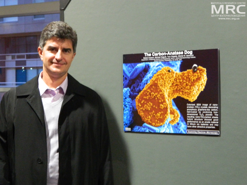 Prof. Yury Gogotsi, Ceramographic Exhibit & Competition at  MS&T conference, October 27, Montreal, Quebec, Canada