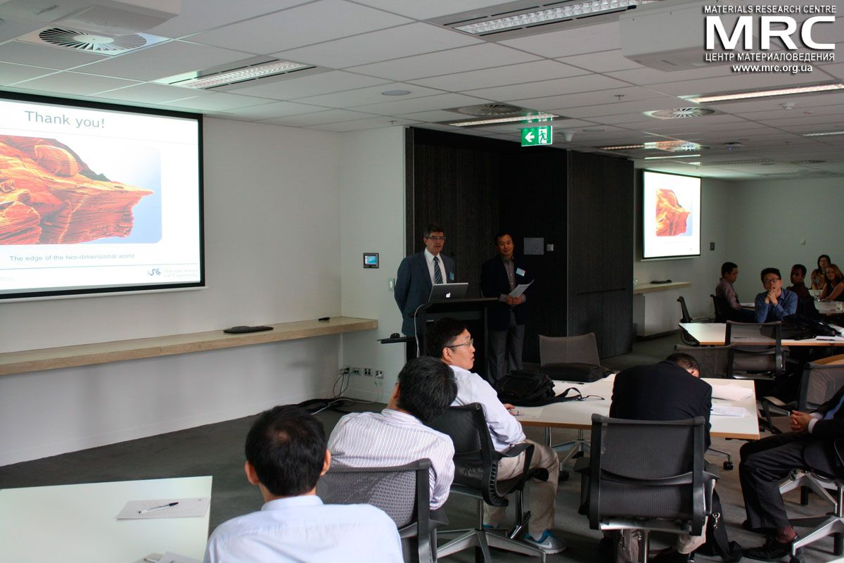 Professor Yury Gogotsi, Drexel University (USA) is giving a Lecture at the Symposium on Two-dimensional Nanomaterials in Melbourne, March, 2015
