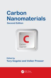 Carbon Nanomaterials, Second Edition, Yury Gogotsi; Volker Presser. Published by CRC Press, 2013