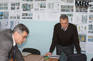 At the photo:  O.Gogotsi (Materials Research Centre) and M.Gubinskiy(NMetAU)