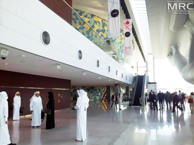 The Qatar Foundation Annual Research Conference (QF-ARC) 2013, Qatar National Convention Centre, Doha
