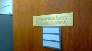 Electrochemical energy systems laboratory, Drexel Department of Mechanical Engineering and Mechanics