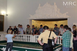 Excursion to the Museum of Poltava Battle history, the Conference Humboldt Kolleg, May 2013