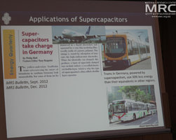 Application of Supercapacitors, slide from prof. Yury Gogotsi presentation