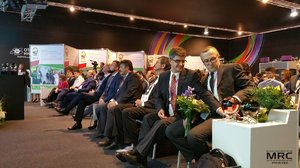 Award Ceremony of RUSNANOPRIZE 2015, Open Innovations Forum, Moscow, October 28, 2015
