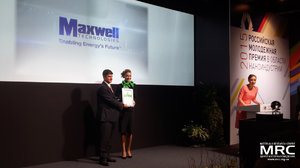 Professor Yury Gogotsi received the RUSNANOPRIZE Award for Maxwell Technologies Inc.