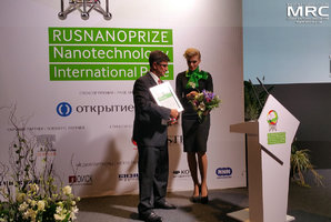 Speach by RUSNANOPRIZE laureate prof. Yury Gogotsi, Drexel University, USA