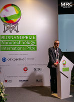 Speach by RUSNANOPRIZE laureate prof. Patrice Simon, Paul Sabatier University (Toulouse, France)