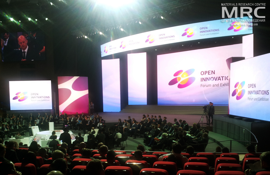 Open Innovations Forum, Moscow, Russia, November 1st, 2013