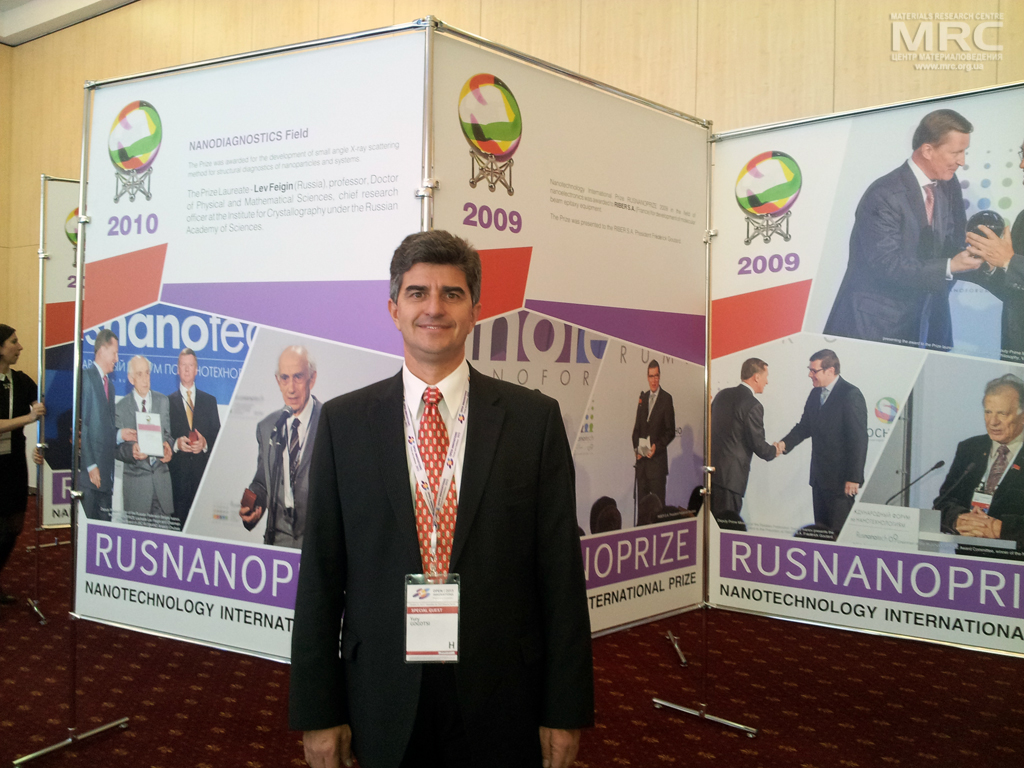 Member of international RUSNANOPRIZE 2013 Award Committee prof. Yury Gogotsi, Director of the A. J. Drexel Nanotechnology Institute, Drexel University, USA, visited International Open Innovations Forum
