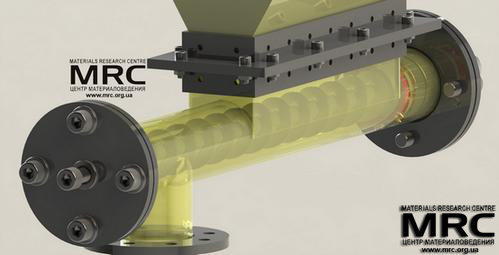 Screw feeder, Autodesk Inventor 3D model by Materials Research Centre